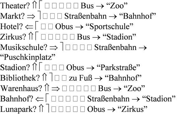 немецкий тексты для чтения знакомство